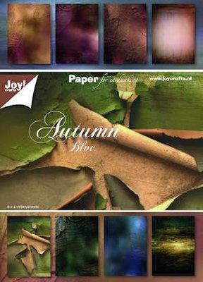 Joy! crafts - Paperpack - Autumn Bloc 6011/0083