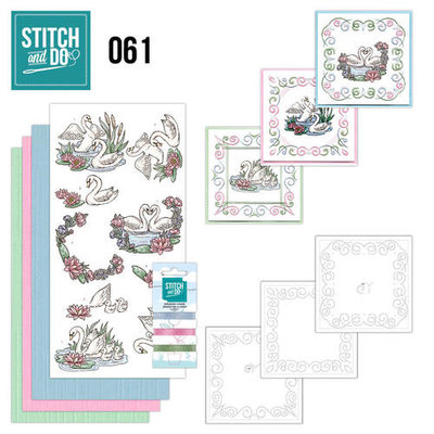 Stitch & do -  61 - Swans