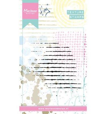 Marianne design, Clear Stamp  -  Grid