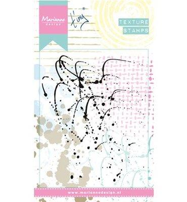 Marianne design, Clear Stamp  - Splatters