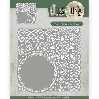 Die - Lilly Luna - Flowers to love frame