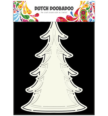 Dutch Doobadoo - Card Art Xmas tree (2x)