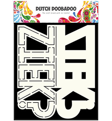 Dutch Doobadoo - Card Art  Text