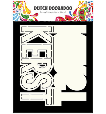 Dutch Doobadoo - Card Art Text 'Kerst'