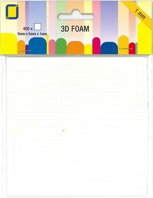 Foam dots 1 mm outer box