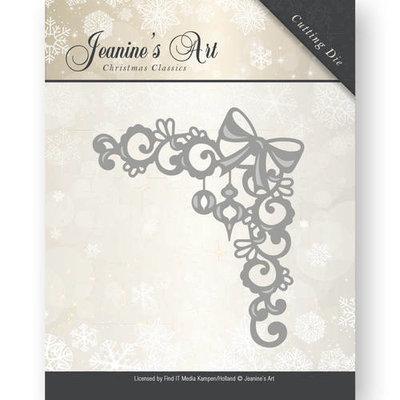 Die - Jeaninnes Art - Christmas Classics - Ornament corner JAD10009