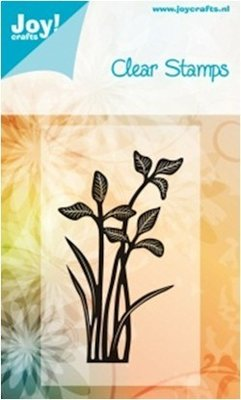 Joy, stmpel bloem1