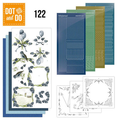 Dot and Do 122 - Precious Marieke - Blauwe Druifjes