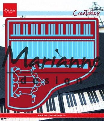 Marianne desgn - Creatables stencil -  piano
