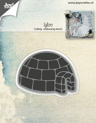 Joy! stencil iglo 6002/0688