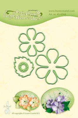 LCR45.4568 Lea'bilitie die - Easy flower die 002