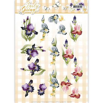 CD11024 3D Knipvel - Precious Marieke - Early Spring - Early Irises