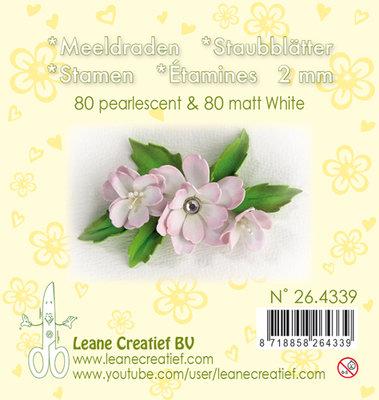 LCR25.4339 Meeldraden- pearl White