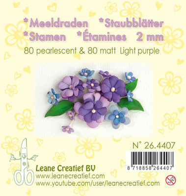 LCR25.4407 Meeldraden- light purple