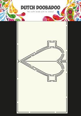 Dutch Doobadoo - Dutch Card Art - Heart Pop Up A4