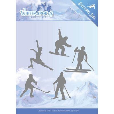 Die - Jeanine's Art - Wintersports - Winter Sporting JAD10030