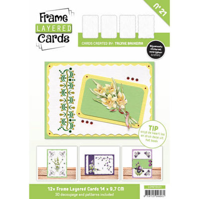 Frame Layered Cards 21 - A6 LCA610021