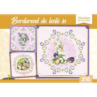 Hobbydols 210 Bordurend de lente in - Christien van den Akker HD210