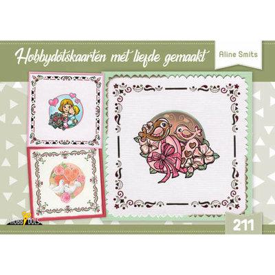 Hobbydols 211 Hobbydotskaarten met liefde gemaakt - Aline Smits HD211
