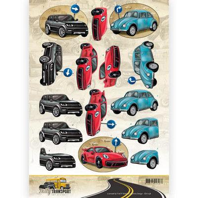 CD11038 3D Knipvel - Amy Design - Daily Transport - Daily Cars