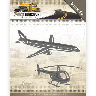 ADD10132 Dies - Amy Design - Daily Transport - Through the Air
