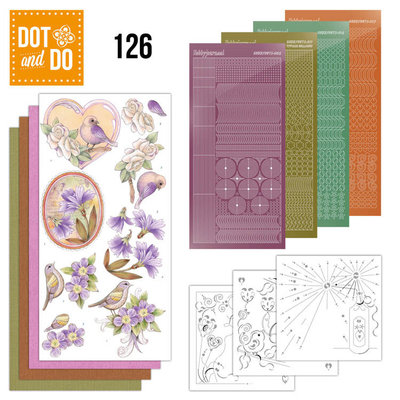Dot and Do 126 - Vintage Flowers DODO126