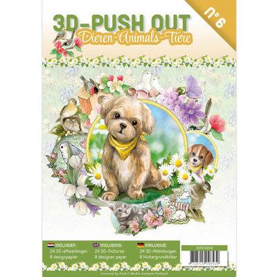 3D uitdrukvellenboek Dieren nr 6