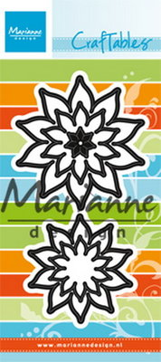 Marianne desgn - Craftables stencil succulent pointed  CR1431
