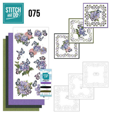 Stitch & do - 75 Amy Design - Hortensia