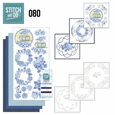 Stitch & do -  80 - Vintage Bloemen