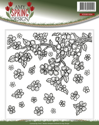 Embossing Folder - Amy Design - Spring