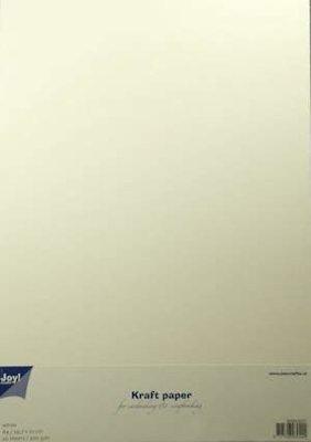 Joy! Kraft papier A4 wit  6089/0231