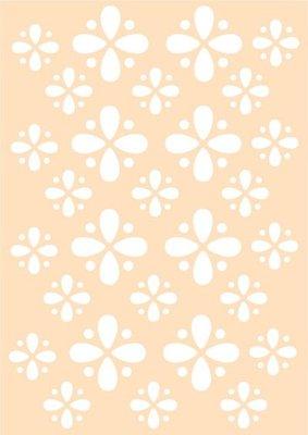 Joy! stencil bloem patroon 6002/0622