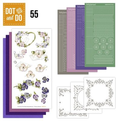 Dot and Do 55 - Viooltjes DODO55