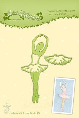 LCR45.1932 Lea bilitie® Ballet dancer snij en embossing mal