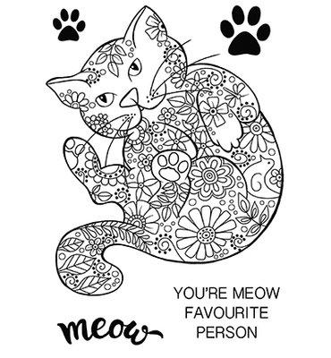 Creative Expression - JGS577 - Decorative Cat