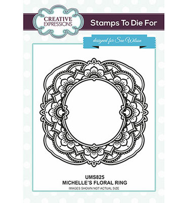 Creative Expression - UMS825 - Michelle's Floral Ring