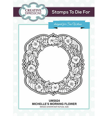 Creative Expression - UMS824 - Michelle's Morning Flower