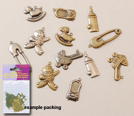 Charms baby scrapbook basics