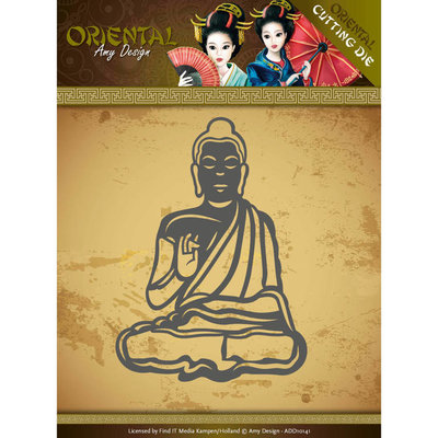 Dies - Amy Design Oriental - Meditating Buddhist ADD10141