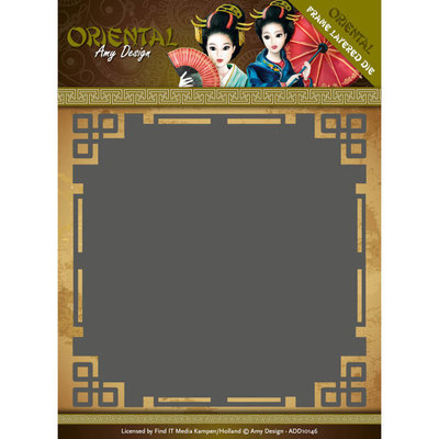 Dies - Amy Design Oriental - Frame Layered Dies ADD10146