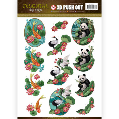 Push Out - Amy Design - Oriental - Animals SB10250
