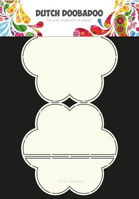 Dutch Doobadoo - Dutch Card Art - Easel Flower A4