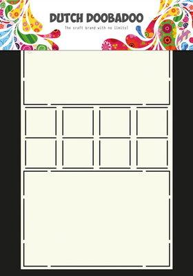 Dutch Doobadoo - Dutch Card Art Card - Locks A4