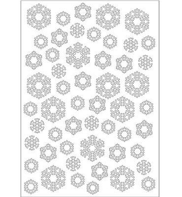 Joy! stencil 6002/0619 - Sneeuwvlokken