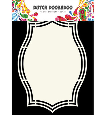 Dutch Doobadoo - Dutch Shape Art -  3 A5