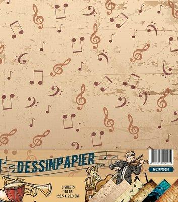 Dessinpapier - Muziek - MUSPP10001