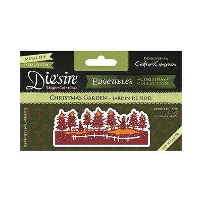 Die'sire Christmas Edge'ables snijmal - Christmas Garden