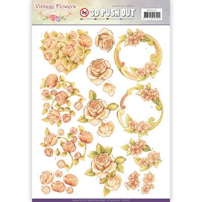 PusPushout - Jeanine's Art - Vintage Flowers - Romantic Vintage 1