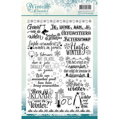 Clearstamp - Jeanines Art - Winter Classics JACS10006